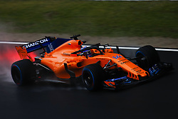 February 26, 2018 - Barcelona, Catalonia, Spain - February 26, 2018 - Circuit de Barcelona-Catalunya, Montmelo, Spain - Formula One preseason 2018; Fernando ALONSO of Team McLaren-Honda, McLaren MCL33 during the afternoon session. (Credit Image: © Eric Alonso via ZUMA Wire)