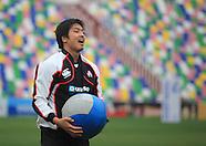 Japan rugby training, Tbilisi Georgia 22 Nov