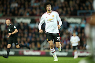 Marouane Fellaini of Manchester United in action. The Emirates FA cup, 6th round replay match, West Ham Utd v Manchester Utd at the Boleyn Ground, Upton Park  in London on Wednesday 13th April 2016.<br /> pic by John Patrick Fletcher, Andrew Orchard sports photography.