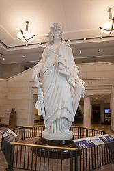Statue of Freedom Replica In The Capitol Visitors Center