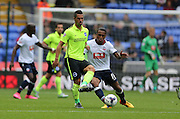Brighton central midfielder, Beram Kayal plays a short pass during the Sky Bet Championship match between Bolton Wanderers and Brighton and Hove Albion at the Macron Stadium, Bolton, England on 26 September 2015.