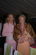 Princess Michael of Kent and Princess Ruspoli. Cartier dinner after thecharity preview of the Chelsea Flower show. Chelsea Physic Garden. 23 May 2005. ONE TIME USE ONLY - DO NOT ARCHIVE  © Copyright Photograph by Dafydd Jones 66 Stockwell Park Rd. London SW9 0DA Tel 020 7733 0108 www.dafjones.com