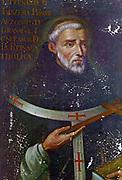 Hernando de Talavera, Archbishop of Granada at the time of Ferdinand and Isabella. 15th century.
