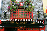 A pub in Galway Ireland.<br /> Photo Don MacMonagle
