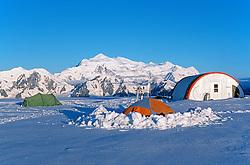 Icefields Discovery Camp in the St. Elias Icefields, Kluane National Park, Yukon