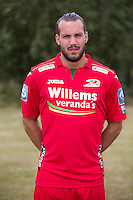 20150626 - OOSTENDE, BELGIUM: Oostende's Mathieu Cornet pictured during the 2015-2016 season photo shoot of Belgian first league soccer team KV Oostende, Friday 26 June 2015 in Oostende. BELGA PHOTO KURT DESPLENTER