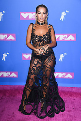 Rita Ora arriving at the MTV Video Music Awards 2018, Radio City, New York. Photo credit should read: Doug Peters/EMPICS