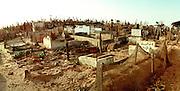 Saint-Louis Senegal -  Graveyard panorama