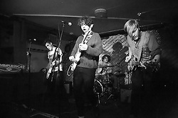 © Licensed to London News Pictures. 12/02/2016. British indie pop group Viola Beach playing at Notting Hill Arts Club on 10th Jan 2016. All four group members and the bands manager were killed when the car they were in crashed in to a canal while the band was touring Sweden.  Photo credit: Colin Hart/LNP