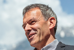 06.05.2018, Innsbruck, AUT, Bürgermeisterstichwahl Innsbruck, Stimmabgabe, im Bild Georg Willi (Die Grünen) // during the mayoral stitch election in Innsbruck, Austria on 2018/05/06. EXPA Pictures © 2018, PhotoCredit: EXPA/ Eibner-Pressefoto/ Johann Groder<br /> <br /> *****ATTENTION - OUT of GER*****