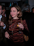ALBA ARIKHA;. Dinner at San Lorenzo, Beauchamp Place after Tod's hosts Book signing with Dante Ferretti celebrating the launch of 'Ferretti,- The art of production design' by Dante Ferretti. 19 April 2005.  ONE TIME USE ONLY - DO NOT ARCHIVE  © Copyright Photograph by Dafydd Jones 66 Stockwell Park Rd. London SW9 0DA Tel 020 7733 0108 www.dafjones.com