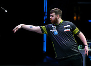 Scott Williams during the BDO World Professional Championships at the O2 Arena, London, United Kingdom on 4 January 2020.