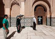 MAROC, Marrakesh: Medersa Ben Youssef