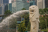 The Merlion (National Emblem of Singapore)