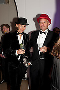 HELENA SIKORSKI; TOM SIKORSKI, The Surrealist Ball in aid of the NSPCC. Hosted by Lucy Yeomans and Harry Blain. Banqueting House. Whitehall. 17 March 2011. -DO NOT ARCHIVE-© Copyright Photograph by Dafydd Jones. 248 Clapham Rd. London SW9 0PZ. Tel 0207 820 0771. www.dafjones.com.