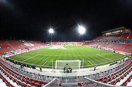 BMO Field, site of MLS Cup 2010 and home of Toronto FC of Major League Soccer, on the eve of the MLS Cup.