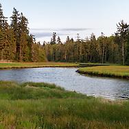 Little Campbell River Estuary near White Rock, British Columbia, Canada.