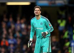 Asmir Begovic of Chelsea - Mandatory byline: Robbie Stephenson/JMP - 10/01/2016 - FOOTBALL - Stamford Bridge - London, England - Chelsea v Scunthrope United - FA Cup Third Round
