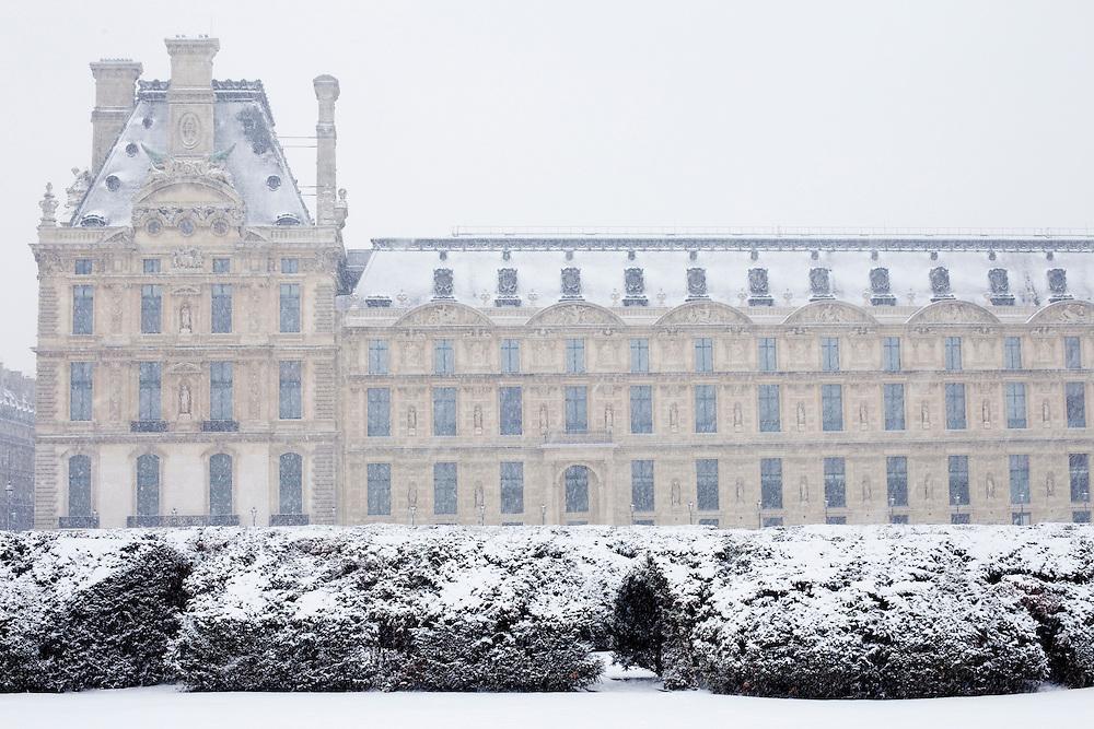 Paris, France. December 17th 2009..Jardin des Tuileries (1st Arrondissement)