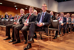 19.05.207, Ferry Porsche Congress Center, Zell am See, AUT, 67. Oesterreichischer Staedtetag, im Bild v.l.: Bürgermeister von Zell am See Peter Padourek (OeVP) und Bundeskanzler Christian Kern (SPOe) // f.l.: Mayor of Zell am See Peter Padourek (OeVP) and Federal Chancellor of Austria Christian Kern (SPOe) during the Austrian General Assemblies of the Cities at the Ferry Porsche Congress Center in Zell am See, Austria on 2017/05/19. EXPA Pictures © 2017, PhotoCredit: EXPA/ JFK