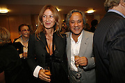 Suzanne and Anish Kapoor, Sadler's Wells Celebrates. Benefit evening for Sadler's Wells hosted by Angela Bernstein and Alistair Spalding. The Royal Horticultural Halls. London. 25 September 2006. -DO NOT ARCHIVE-© Copyright Photograph by Dafydd Jones 66 Stockwell Park Rd. London SW9 0DA Tel 020 7733 0108 www.dafjones.com
