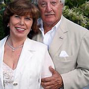 NLD/Laren/20070829 - Huwelijk Willibrord Frequin en Susanne Rastin, Hans Boskamp en partner Tine Tijssen