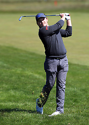 England's Eddie Pepperell on the 2nd fairway during day three of the Betfred British Masters at Hillside Golf Club, Southport.
