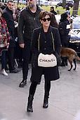 Kris Jenner arrives at Chanel