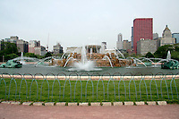 Buckingham Fountain in Grant Park, Chicago, Illinois
