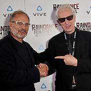 Elliot Grove and Enzo Sisti Nominated attends the Raindance Film Festival - VR Awards, London, UK. 6 October 2018.