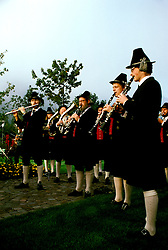Germany: Musicians of Oberammergau.  Photo: grroma104.Photo copyright Lee Foster, 510/549-2202, lee@fostertravel.com, www.fostertravel.com