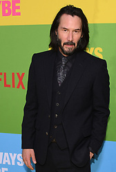 May 22, 2019 - Westwood Village, California, U.S. - 22 May 2019 - Westwood Village, California - Keanu Reeves. Netflix ''Always Be My Maybe'' Los Angeles Premiere held at Regency Village Theatre. Photo Credit: Billy Bennight/AdMedia (Credit Image: © Billy Bennight/AdMedia via ZUMA Wire)