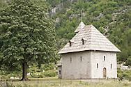 Church in Theth, Peaks of the Balkans Trail, Albania © Rudolf Abraham