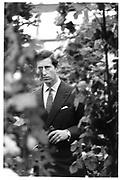 Prince Charles, Chelsea Flower Show. London. 1986 approx.© Copyright Photograph by Dafydd Jones 66 Stockwell Park Rd. London SW9 0DA Tel 020 7733 0108 www.dafjones.com