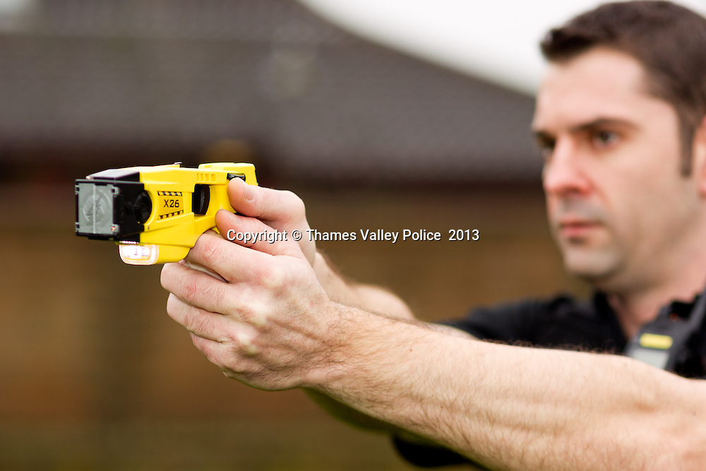 """Thames Valley Police is today (11/1), announcing its plans to equip more officers with Taser Electronic Control Devices. <br /> Following consultation with officers, local police area commanders and the Police Federation, the Chief Constable's management team has implemented a plan that will see more officers being selected, assessed and trained to be equipped with the devices. <br /> This will see the total number of officers within Thames Valley trained to use Tasers increase by 280 to 485. This equates to a rise from 4.9 percent of officers to 11 per cent. <br /> The Force first issued Tasers to officers in 2004.  Currently only firearms officers are permitted to carry and use Taser devices. <br /> Over the past three years the total number of Taser deployments has increased from 795 in 2010, to 842 in 2011 and 936 in 2012. <br /> However, the number of instances where the devices were actually discharged has remained low, with only 16 incidents resulting in a discharge in 2010. This equates to 2 per cent of the total number of incidents where the use of a Taser was authorised.<br /> In 2011 there were only 14 incidents where a Taser was discharged. This is only 1.7 per cent of the total number of incidents where the use of a Taser was authorised.<br /> In 2012 there were 16 incidents where officers discharged a Taser. This is only 1.7 per cent of the total number of incidents where the use of a Taser was authorised. <br /> Assistant Chief Constable John Campbell, who is responsible for tactical support, said that this decision would also bring Thames Valley Police in line with the majority of other forces across the country.<br /> He said: """"Until this decision was taken, Thames Valley Police was one of five forces in England and Wales that only permitted firearms officers to carry Tasers. <br /> """"By rolling it out to specially trained officers, it will bring the percentage of officers trained closer to the national average of 11.5 per cent across the remaining 3"""