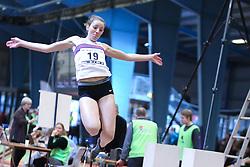 Ellen Geckler Friborg. Danske Mesterskaber indendørs i atletik 2017  i Spar Nord Arena, Skive, Denmark, 18.02.2017. Photo Credit: Allan Jensen/EVENTMEDIA.