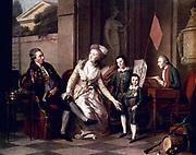 Hippolyte Delaroche (1797–1856),known as Paul Delaroche, French painter Portrait of the family Saltykowa 1782