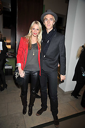 JAMES COOK and POPPY DELEVIGNE at the MAC Salutes party paying tribute to renowned makeup artists held at The Hosptal, Endell Street, London on 22nd February 2009.