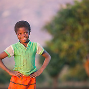 CAPTION: This is Ester. She's in the 1st Standard at school. LOCATION: Nsanja-Seze, Vila Ulongwe area, Angonia District, Tete Province, Mozambique. INDIVIDUAL(S) PHOTOGRAPHED: Ester Dickson.