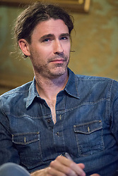 July 3, 2018 - Turin, Piedmont, Italy - Turin, Italy-July 3, 2018: The American writer Joshua Ferris presents his book ''The Dinner Party'' in Turin (Credit Image: © Stefano Guidi via ZUMA Wire)
