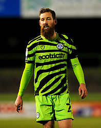 Scott Wagstaff of Forest Green Rovers- Mandatory by-line: Nizaam Jones/JMP - 27/02/2021 - FOOTBALL - The innocent New Lawn Stadium - Nailsworth, England - Forest Green Rovers v Colchester United - Sky Bet League Two