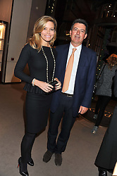 NICK BARHAM and KAREN CARWIN at a party to celebrate the launch of Carol Woolton's book 'Drawing Jewels For Fashion' held at Asprey, 167 New Bond Street, London W1 on 10th November 2011.