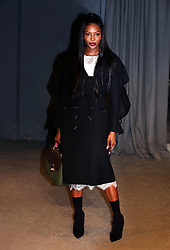 Naomi Campbell attending the Burberry London Fashion Week Show at Makers House, Manette Street, London.