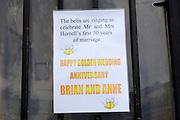 UK, 6 June 2009: Images of Brian and Anne Horrell's Golden Wedding Anniversary Celebrations. Photo by Peter Horrell / http://peterhorrell.com