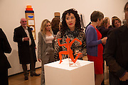 ELIZABETH DAVID, Gala Opening of RA Now. Royal Academy of Arts,  8 October 2012.