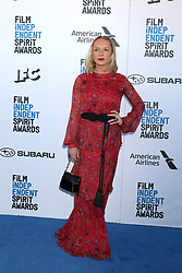 February 23, 2019 - Santa Monica, CA, USA - LOS ANGELES - FEB 23:  Annie Starke at the 2019 Film Independent Spirit Awards on the Beach on February 23, 2019 in Santa Monica, CA (Credit Image: © Kay Blake/ZUMA Wire)