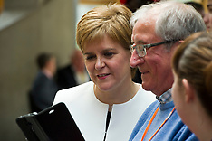 Ever popular First Minister, Edinburgh, 2 May 2019