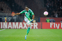 FOOTBALL - FRENCH CHAMPIONSHIP 2011/2012 - L1 - PARIS SAINT GERMAIN v AS SAINT ETIENNE - 2/05/2012 - PHOTO JEAN MARIE HERVIO / DPPI - ALBIN EBONDO (ASSE)