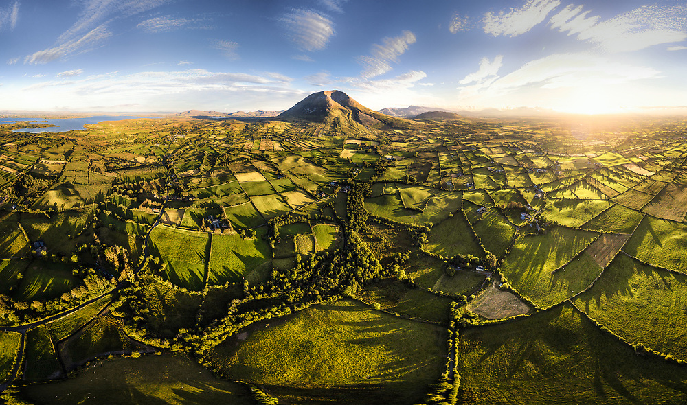 Nephin or Nefin, the highest standalone mountain in Ireland.