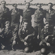 An undated picture at an unspecified location of Ken Snyder, bottom right, seen at his Dorian Drive home in Maumee, Ohio, on Saturday, Feb. 22, 2020. Brothers George Snyder, Jr., 97, and Ken Snyder, 96, both served in World War II. THE BLADE/KURT STEISS <br /> MAG WWIIVet01